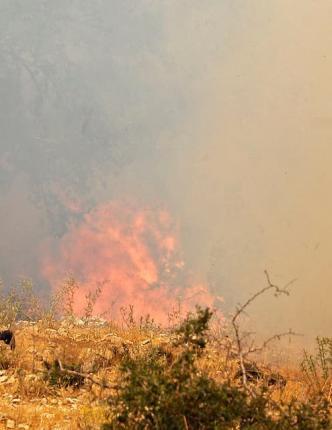 لبنان يجــاهد لإخماد الحرائق