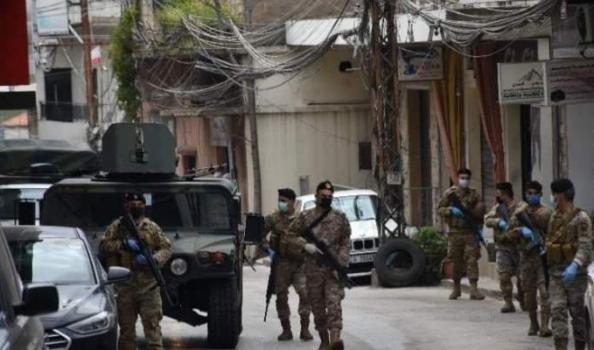 """اشتباكات عنيفة بين الجيش اللبناني و""""آل جعفر"""""""