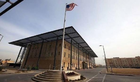 قصف صاروخي يستهدف سفارة واشنطن في بغداد