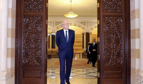 """البرلمان اللبناني يمنح الثقة لحكومة """"نجيب ميقاتي"""" بأغلبية أعضائه"""