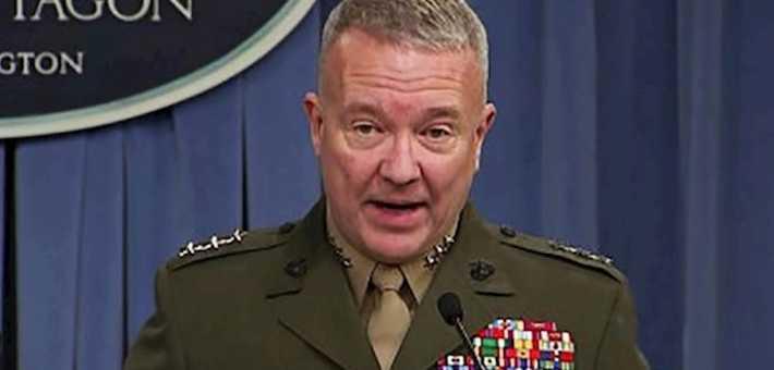 قائد القيادة المركزية الأمريكية الجنرال كينيث ماكنزي، أعرب عن قلقه من لجوء جماعات مسلحة إلى استخدام طائرات (درونز) في هجمات ضد قواعد عسكرية في العراق