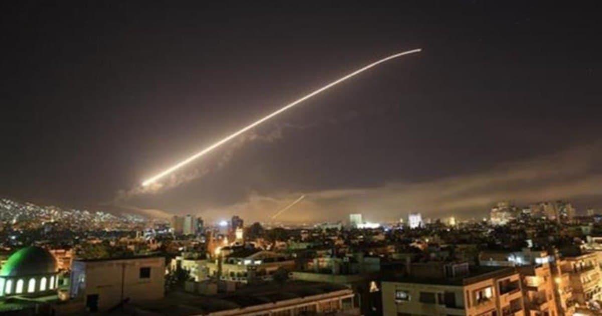قصفت الطائرات الحربية الإسرائيلية مواقع عسكرية في كل من محافظات دمشق وحمص واللاذقية