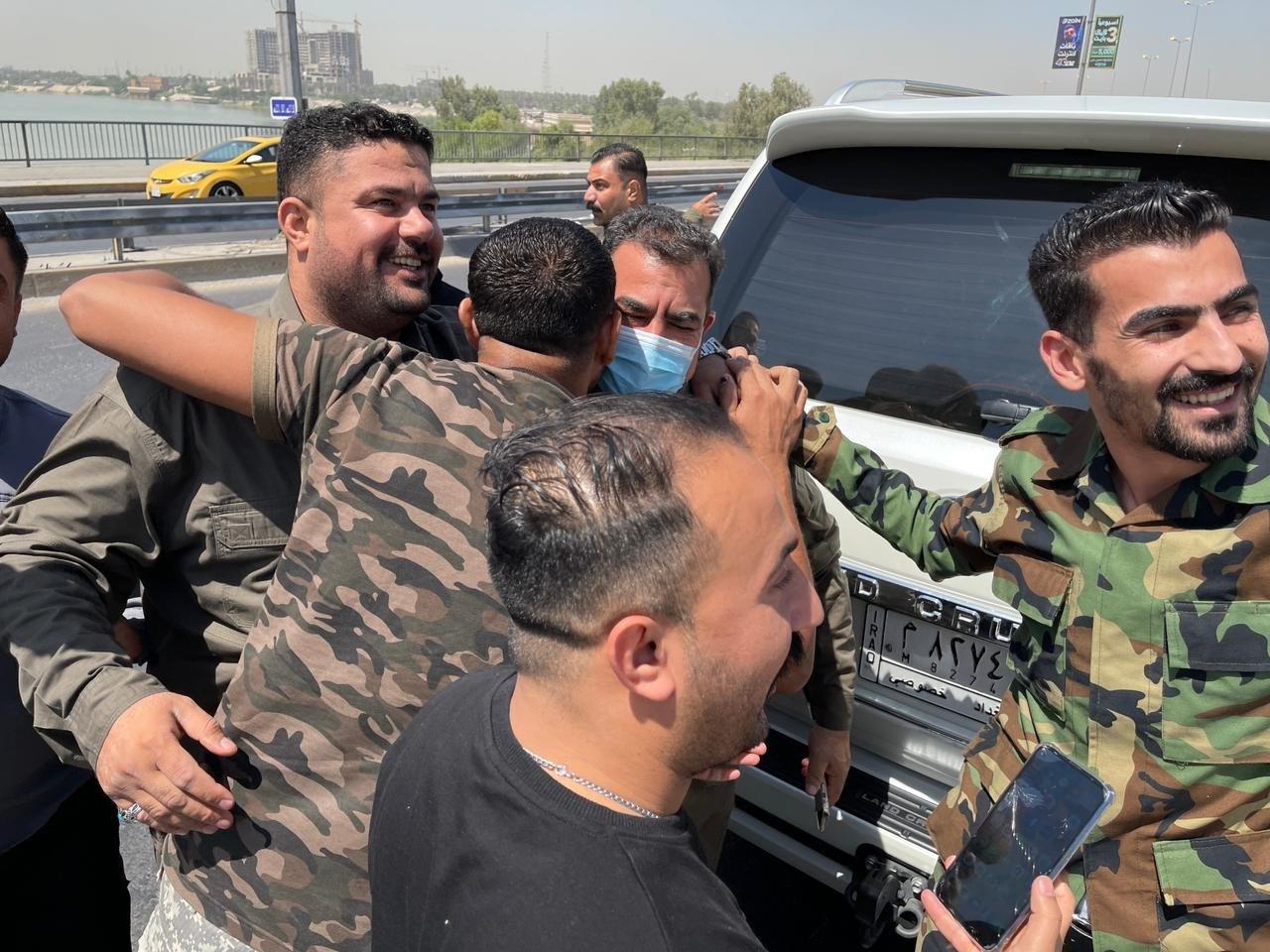 ضغطت إيران على السلطات العراقية، من أجل إطلاق سراح قائد عمليات الأنبار في الحشد الشعبي قاسم مصلح