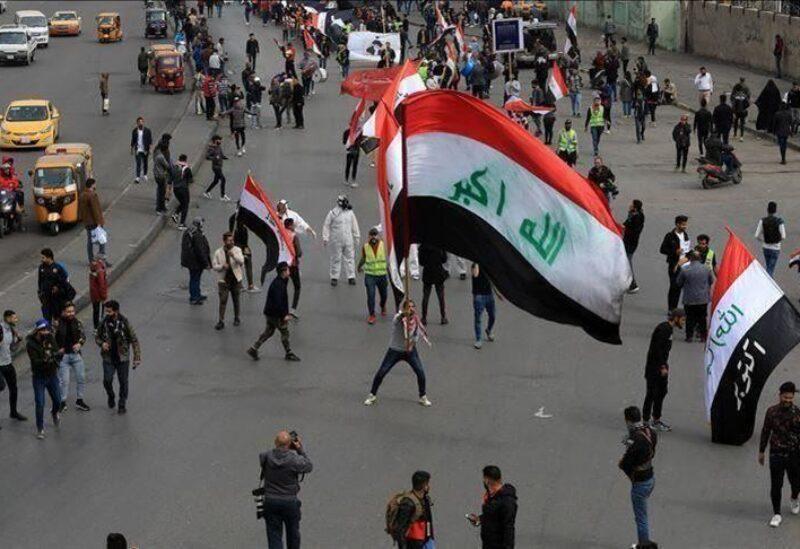 من مظاهرات العراق المطالبة بإسقاط حكومة عادل عبدالمهدي (أرشيف)