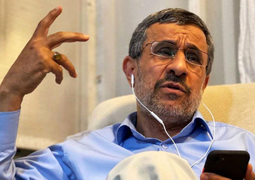 الرئيس الإيراني السابق محمود أحمدي نجاد كشف عددا من الملفات السياسية والأمنية في إيران واختراق إسرائيل لأرفع مسؤول بالمخابرات الإيرانية