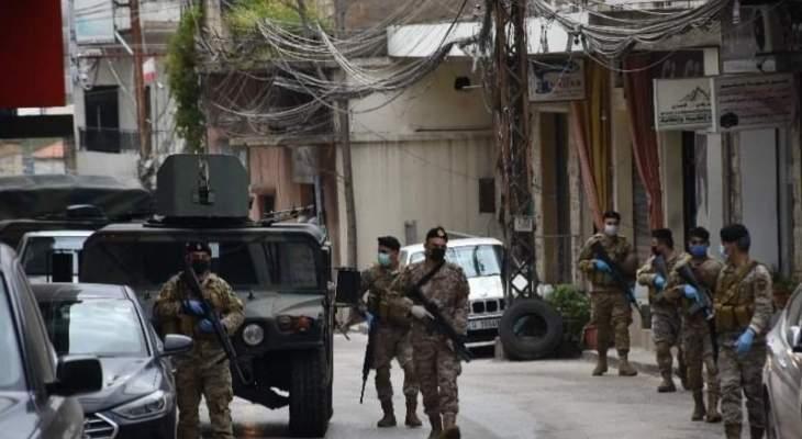 اشتباكات عنيفة اندلعت بين مطلوبين من آل جعفر ودورية للجيش