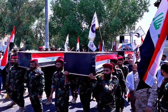 قصفت طائرات أمريكية ليلة الأحد/الاثنين مواقع عسكرية للميليشيات العراقية المدعومة من إيران