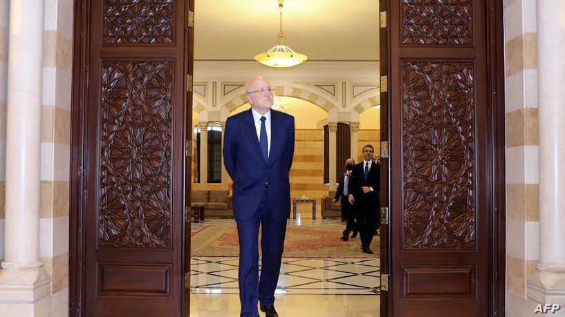 يأتي منح الثقة للتشكيلة الحكومية بعد أكثر من عام على استقالة حكومة حسان دياب