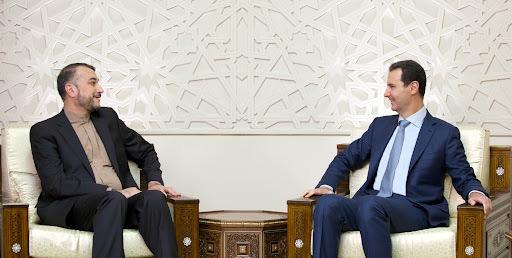 الوزير الإيراني زار سوريا في 29 آب/ أغسطس الماضي واستقبله رأس النظام بشار الأسد