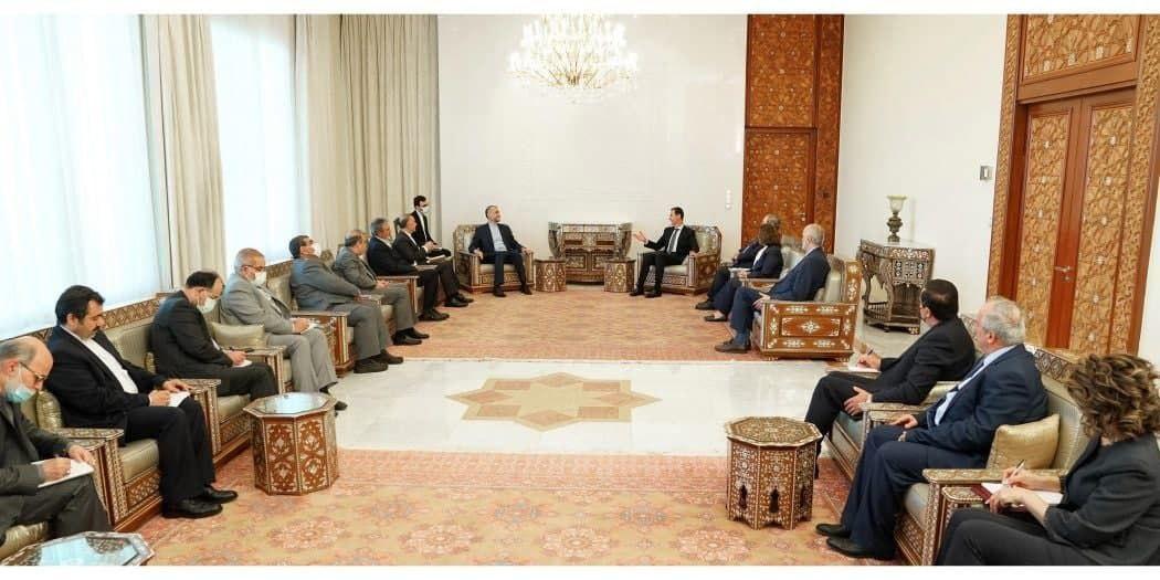 عبد اللهيان قال إنه سيتم إنجاز هذه الاتفاقات الثنائية بالمستقبل القريب