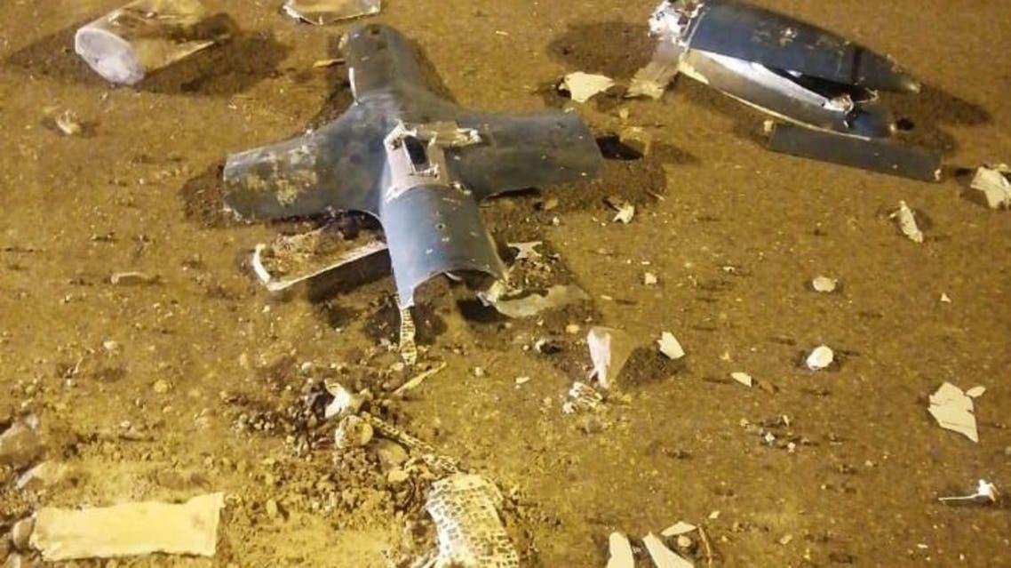 الدفاعات الجوية السعودية اعترضت ودمرت مسيرة مفخخة
