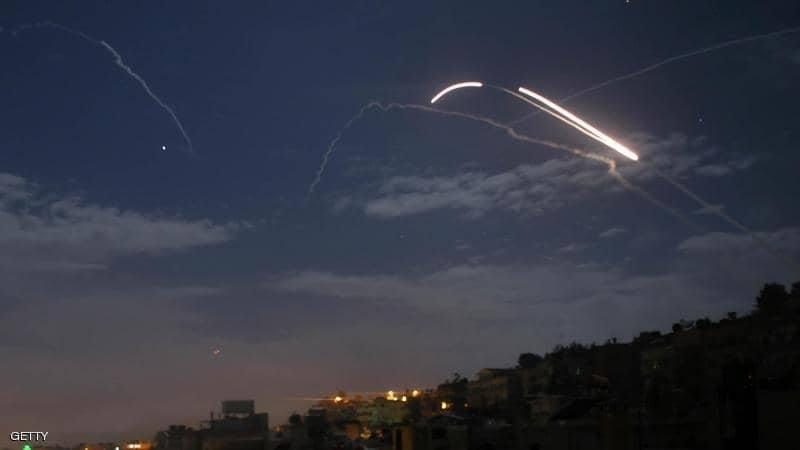 غارات جوية لطائرات إسرائيلية دخلت من الأجواء الأردنية إلى منطقة التنف، واستهدفت جنوب تدمر